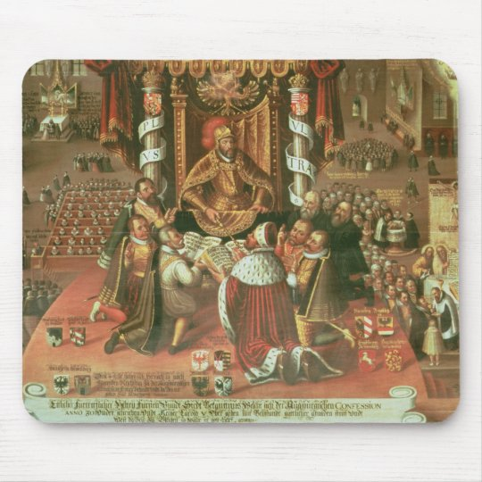 The Delivery of the Augsburg Confession Mouse Pad