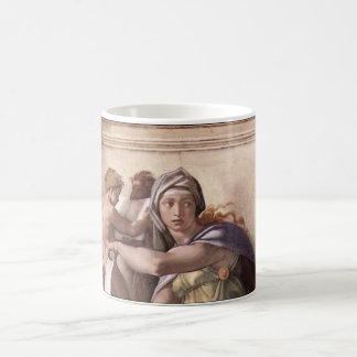 The Delphic Sibyl - Fresco Sistine Chapel Classic White Coffee Mug