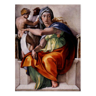 The Delphic Sibyl Postcard