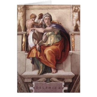 The Delphic Sybil Card