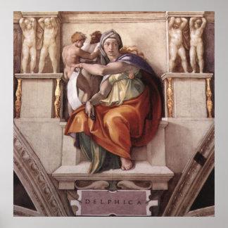 The Delphic Sybil Poster