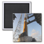 The Delta IV rocket 2 Inch Square Magnet