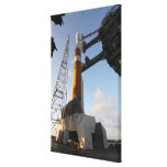 The Delta IV rocket Canvas Print