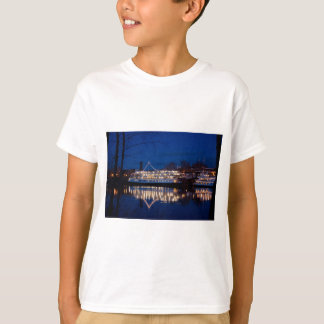 The Delta King at night - Sacramento, CA T-Shirt