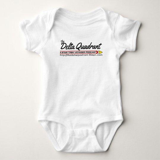 The Delta Quadrant logo Baby Bodysuit