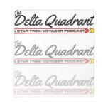 The Delta Quadrant logo notepad, style 2