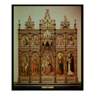 The Demidoff Altarpiece, 1476 Poster