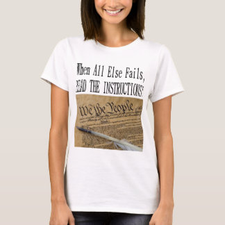 The DEMOCRATIC CONVENTION reading The CONSTITUTION T-Shirt