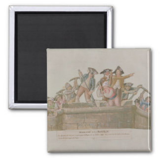 The Demolition of the Bastille, July 1789 Magnet