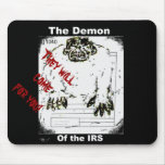 The Demon of the IRS mouse pad