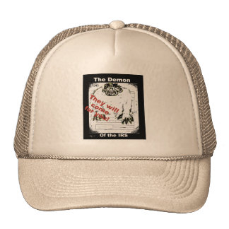 The Demon of the IRS trucker hat