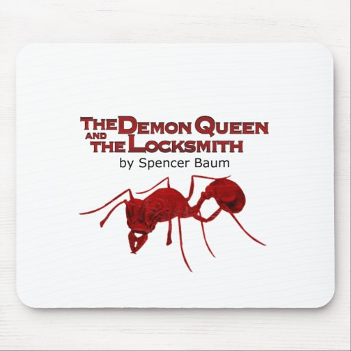 The Demon Queen and the Locksmith Mouse Pad