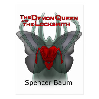 The Demon Queen and the Locksmith Postcard