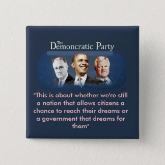 The Demoncratic Party Button