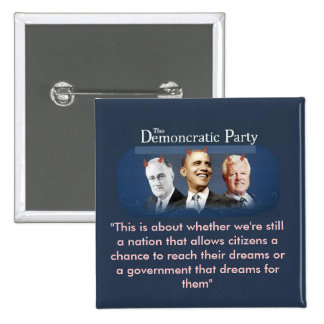 The Demoncratic Party Pin