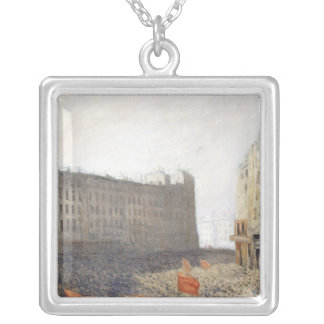The Demonstration, 1905 Square Pendant Necklace