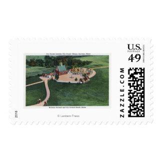 The Den Danske Landsby (Danish Village) Postage Stamps