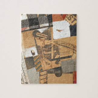 The denaturalized material. Destruction 2. by Theo Puzzle