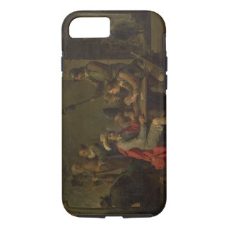 The Denial of St. Peter, 1646 (oil on canvas) iPhone 7 Case