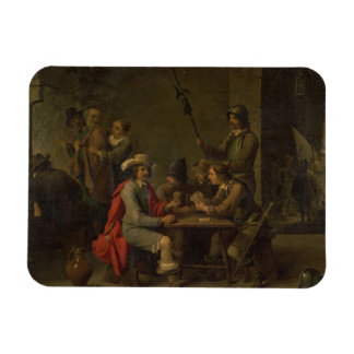 The Denial of St. Peter, 1646 (oil on canvas) Magnet