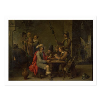 The Denial of St. Peter, 1646 (oil on canvas) Postcard