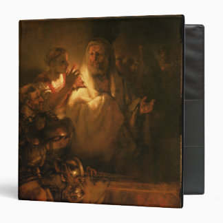 The Denial of St. Peter, 1660 (oil on canvas) 3 Ring Binders