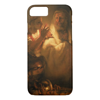 The Denial of St. Peter, 1660 (oil on canvas) iPhone 8/7 Case