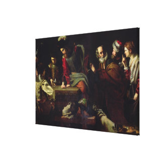 The Denial of St. Peter Canvas Print