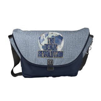 The Denim Revolution Messenger Bag