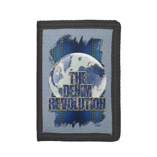The Denim Revolution Tri-fold Wallet