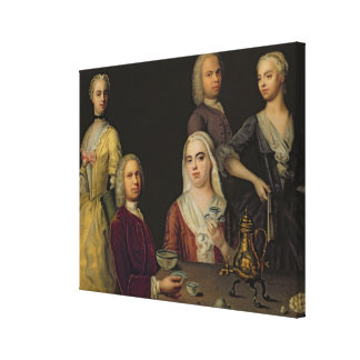 The Denner Family Canvas Print