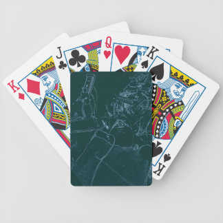 The Dentist Chair Bicycle Playing Cards