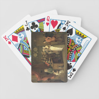 The Denunciation (oil on canvas) Bicycle Playing Cards