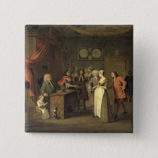 The Denunciation (oil on canvas) Button