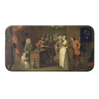 The Denunciation (oil on canvas) iPhone 4 Case-Mate Case