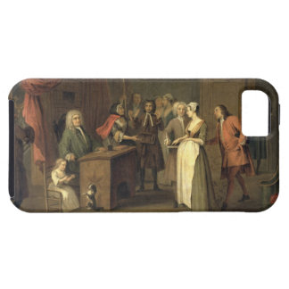 The Denunciation (oil on canvas) iPhone SE/5/5s Case