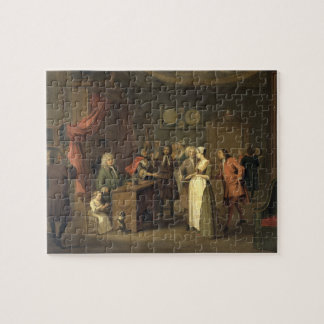 The Denunciation (oil on canvas) Jigsaw Puzzle