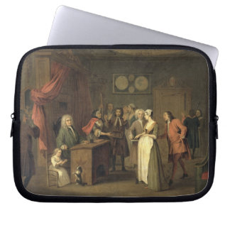 The Denunciation (oil on canvas) Laptop Sleeve