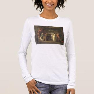 The Denunciation (oil on canvas) Long Sleeve T-Shirt