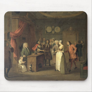 The Denunciation (oil on canvas) Mouse Pad