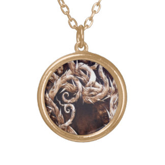 The Departed - Haunted - Sm Goldtone Necklace