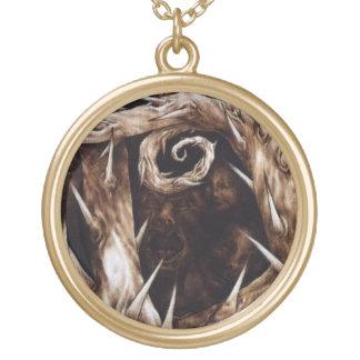 The Departed - Lost Souls - Lg Goldtone Necklace