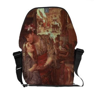 The Departure, 1880 (oil on panel) Courier Bag