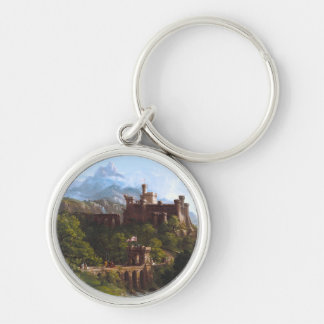 The Departure by Thomas Cole Keychain