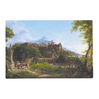 The Departure by Thomas Cole Placemat
