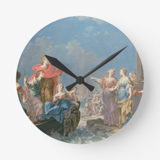 The Departure of Aeneas Round Clocks