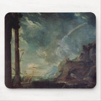 The Departure of Aeneas from Carthage Mouse Pad