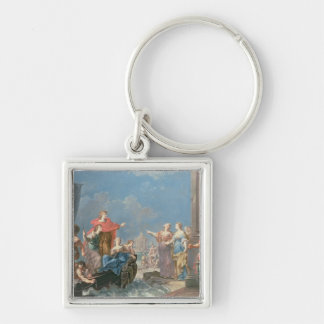 The Departure of Aeneas Keychain