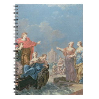 The Departure of Aeneas Notebook