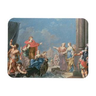 The Departure of Aeneas Rectangular Photo Magnet